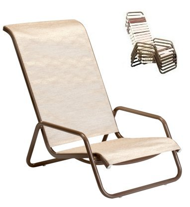 Model 11302SL Sling High Back Beach Chair