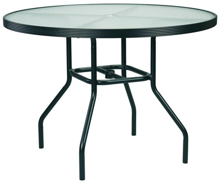 Model 142AH 42in. Acrylic Table