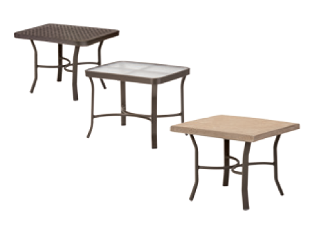 Model 41824 Deep Seating End Tables