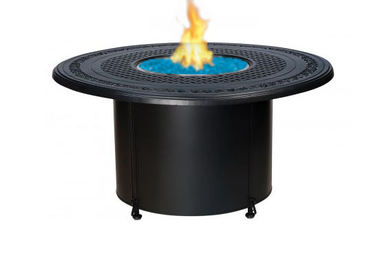 Model W65M747-W03348FP Round Fire Pit w/48 in. Round Cast Top