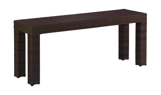 Model WCS511231 All Weather Wicker Console Table