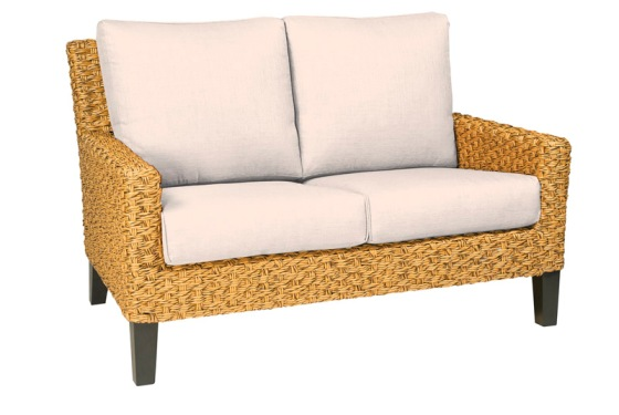 Model WCS520021 All Weather Wicker Loveseat