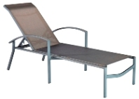 Model 31202SL Stacking Sling Chaise Lounge w/Arms