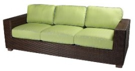 Model WCS511081 All Weather Wicker Sofa