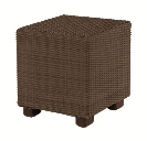 Model WCS511221 All Weather Wicker Bunching Table