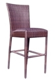 Model WCS593091 All Weather Wicker Padded Barstool