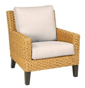 Model WCS520011 All Weather Wicker Lounge Chair