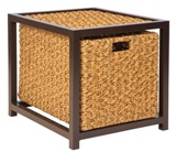 Model WCS520201 All Weather Wicker End Table